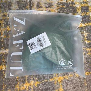 Army green zaful bikini